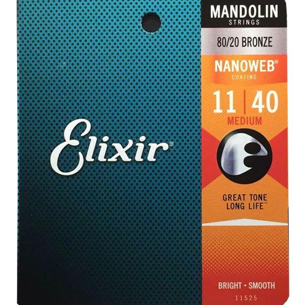 Corda Para Bandolim Elixir 011 Medium