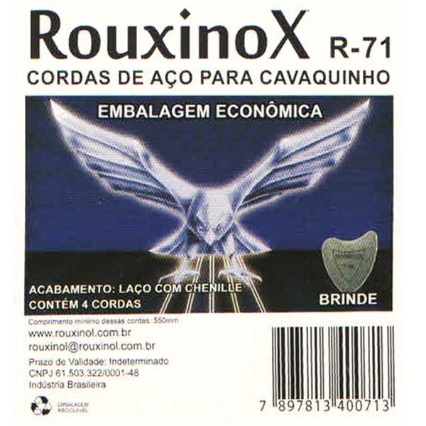 Corda Para Cavaco Rouxinol Inox Com Chenille R-71