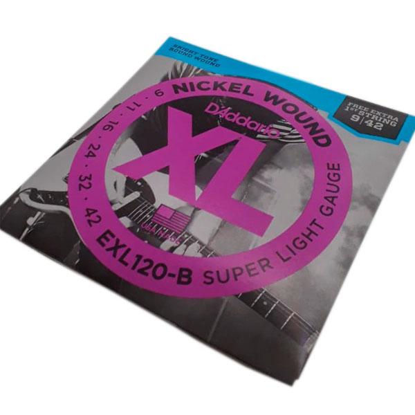 Corda Para Guitarra 009 Exl120-B Daddario