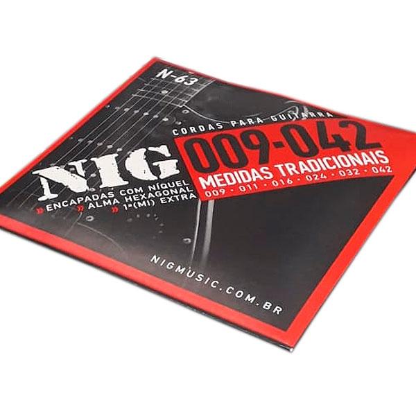 Corda Para Guitarra 009 N-63 Nig