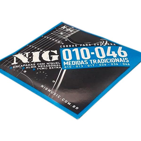 Corda Para Guitarra 010 N-64 NIG