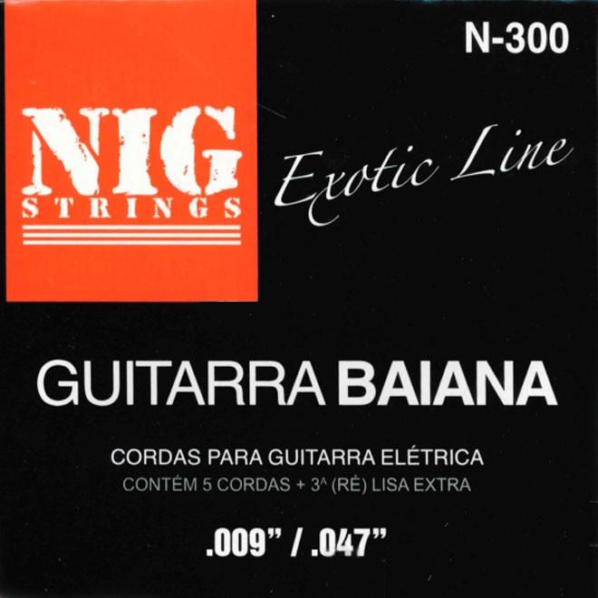Corda Para Guitarra Baiana Nig 009 N-300