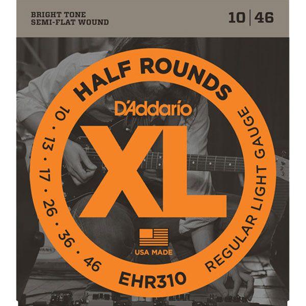 Corda Para Guitarra Daddario 010 EHR310 Half Round