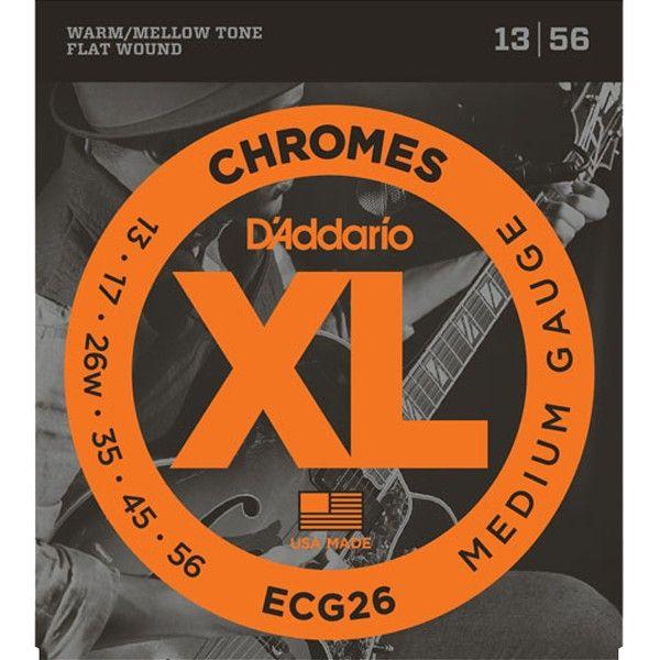 Corda Para Guitarra Daddario 013 ECG26 Chromes