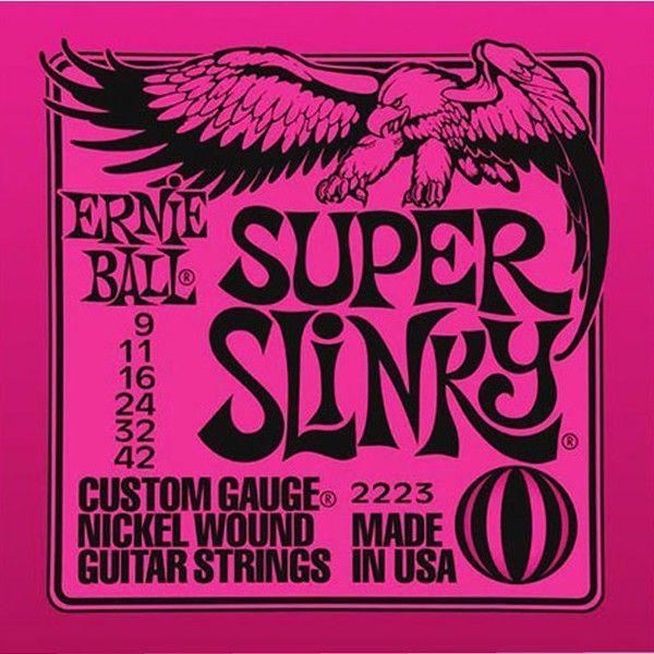 Corda Para Guitarra Ernie Ball 009 Super Slinky