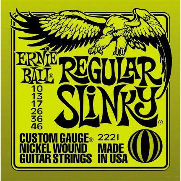 Corda Para Guitarra Ernie Ball 010 Regular Slinky
