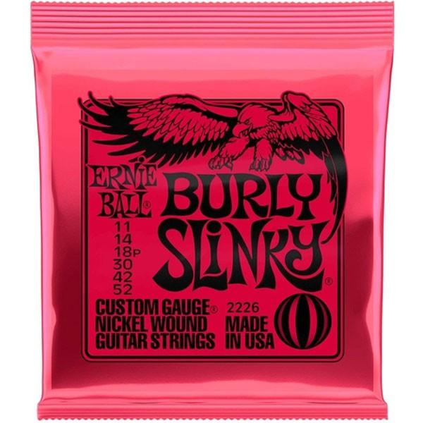 Corda Para Guitarra Ernie Ball 011-52 Burly Slinky