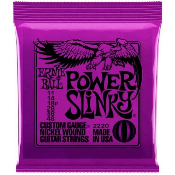 Corda Para Guitarra Ernie Ball 011 Power Slinky