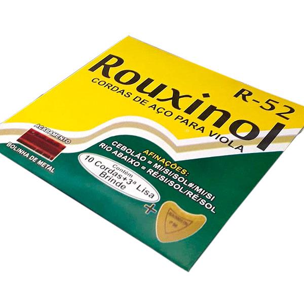 Corda Para Viola Aço 10 Cordas Com Bolinha R-52 Rouxinol