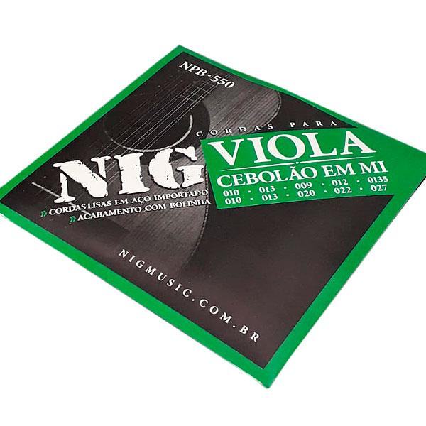 Corda Para Viola Fósforo Bronze Cebolao em Mi NPB-550 NIG