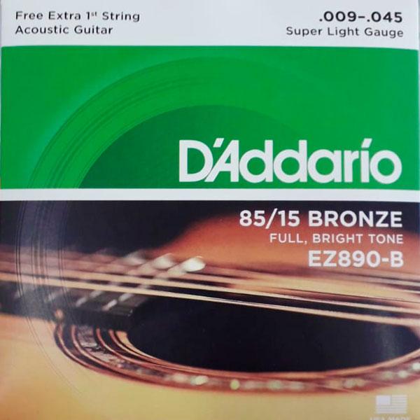 Corda Para Violão 009 Ez890-B Daddario