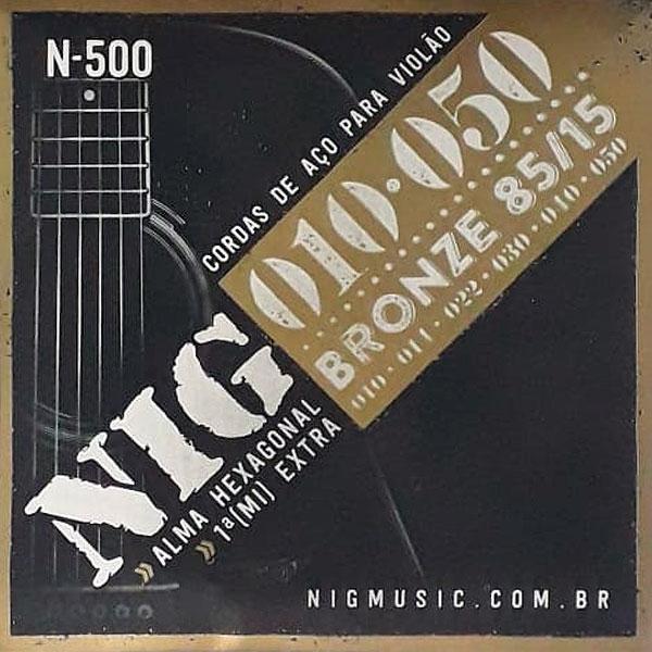 Corda Para Violão 010 N-500 Nig