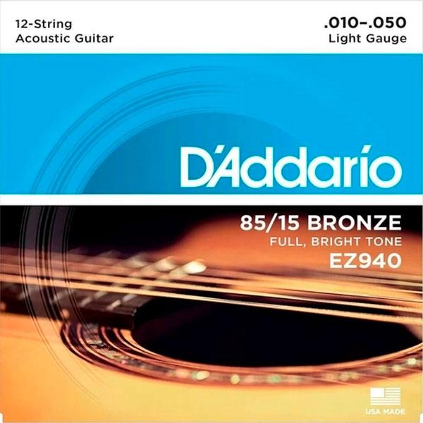 Corda Para Violão 12 Cordas EZ940 Daddario