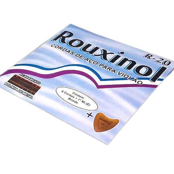 Corda Para Violão Aço Inox R-20 Rouxinol