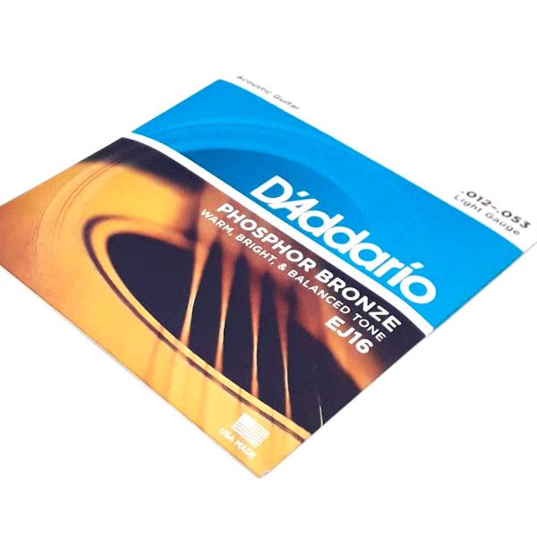 Corda Para Violao Daddario 012 Ej16 Phosphor