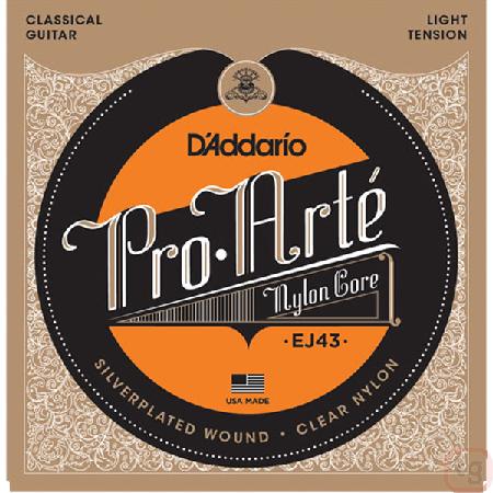 Corda Para Violão Daddario Pro Arte Nylon Ej43 Light