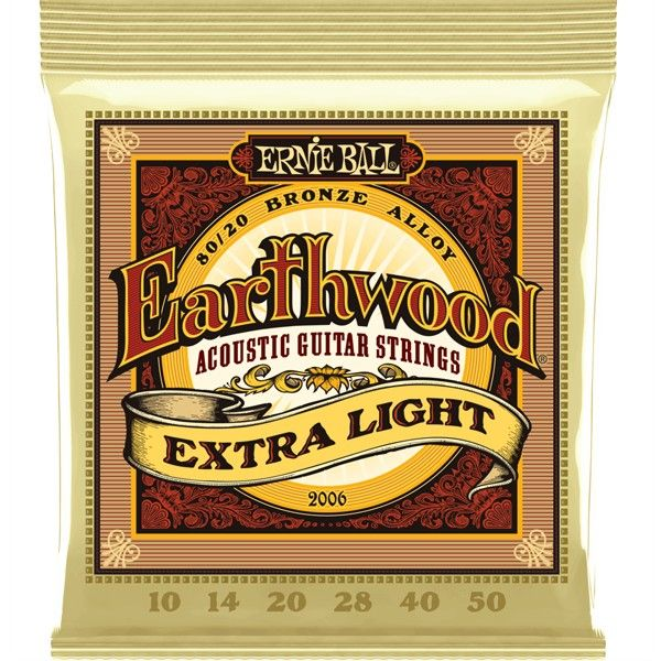 Corda Para Violão Ernie Ball 010 Extra Light