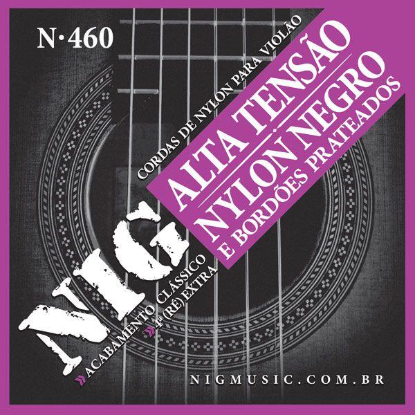 Corda Para Violao Nig Nylon Tensao Alta N-460