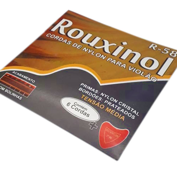 Corda Para Violão Nylon R-58 Rouxinol