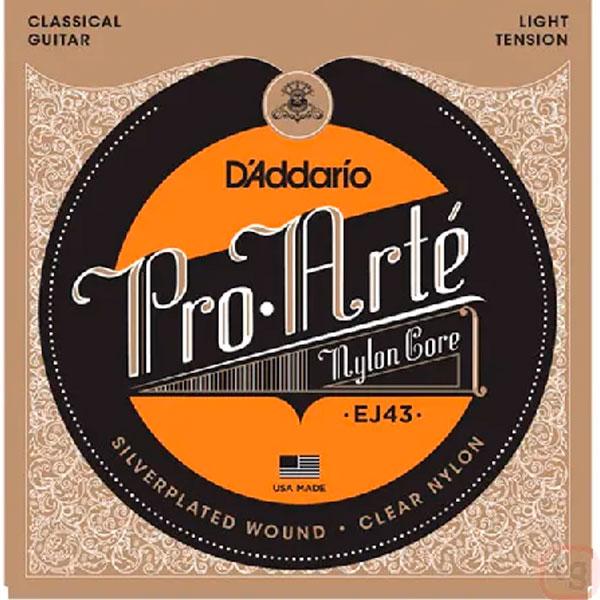 Corda Para Violão Pro Arte Nylon Ej43 Light Daddario