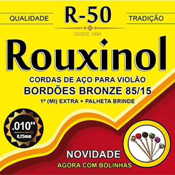 Corda Para Violão Rouxinol R-50 Bronze