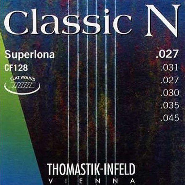Corda Para Violão Thomastik Classic N Superlona Flat Wound