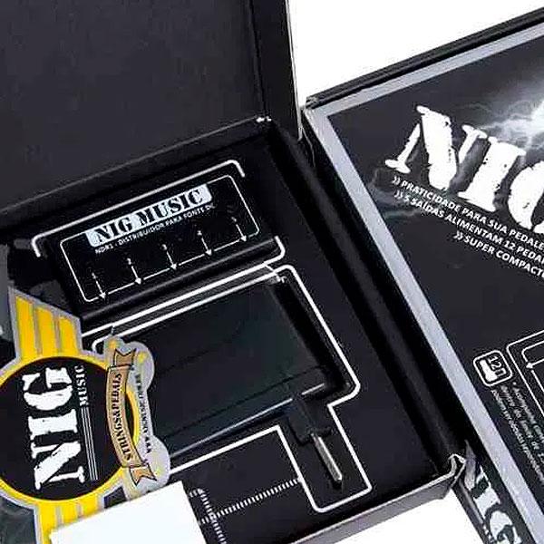 Distribuidor e Fonte Estabilizada Para Pedal Com 12 Saídas NDR1 NIG
