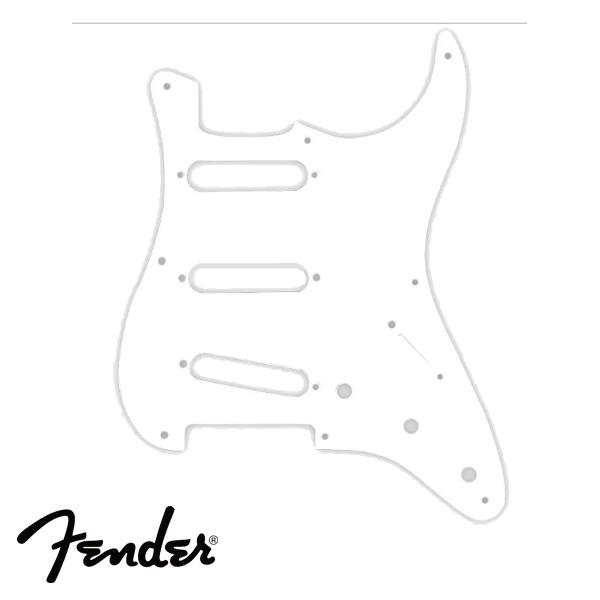 Escudo Fender Branco ´57 Strato SSS