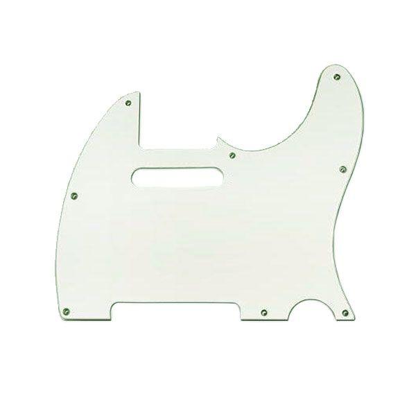Escudo Para Guitarra Tele Mint Green Sanduichado