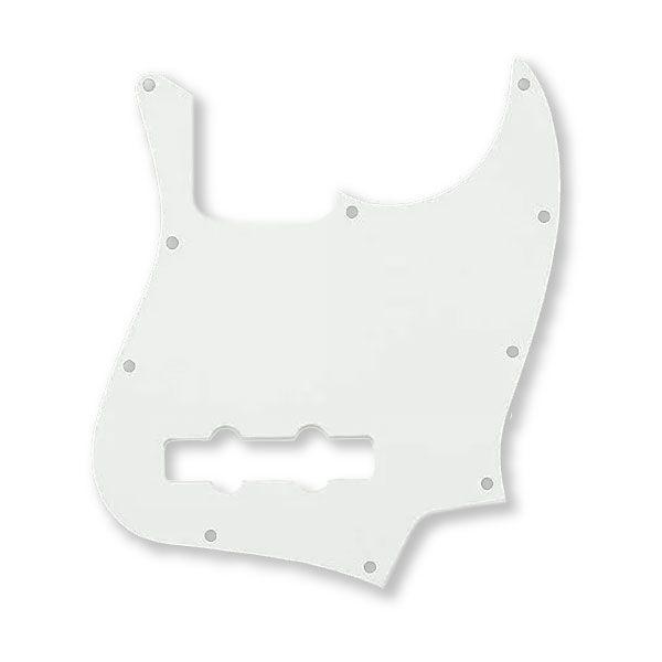Escudo Para Jazz Bass 1 Camada Branco