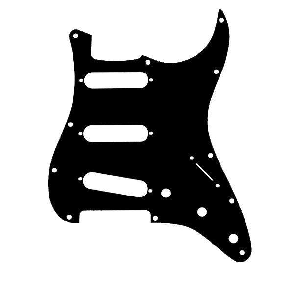Escudo Para Strato Sss 1 Camada Preto