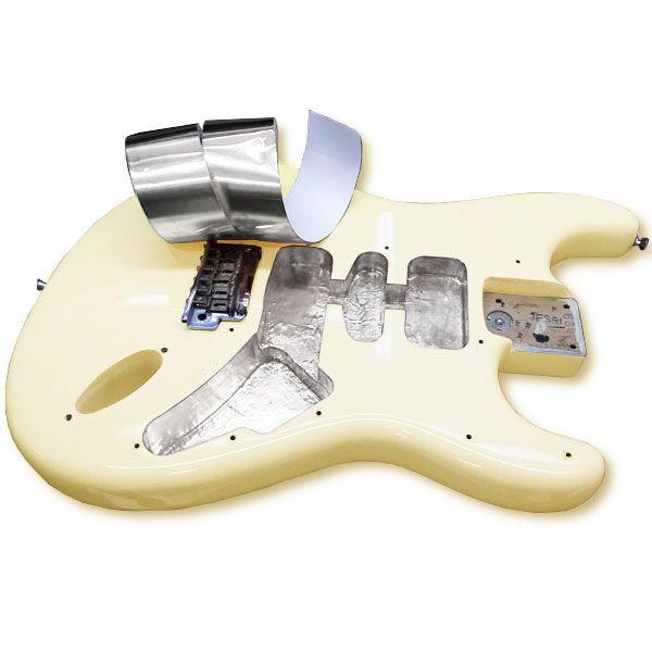 Fita de Aluminio para Blindagem de Guitarra e Baixo 2m