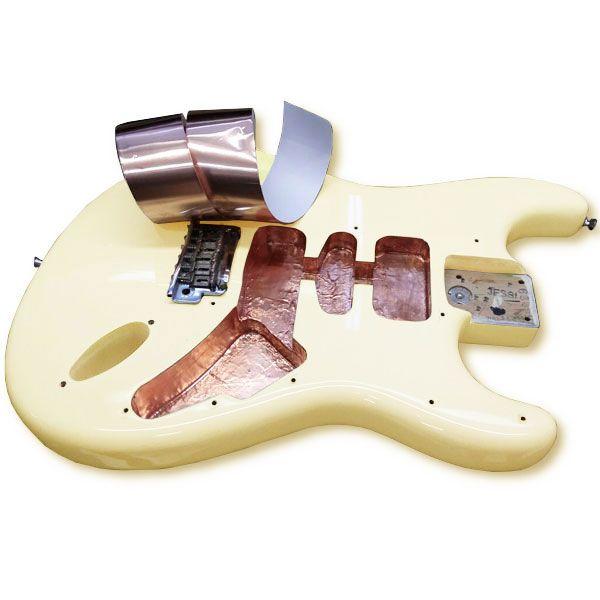 Fita de Cobre para Blindagem de Guitarra e Baixo 2m