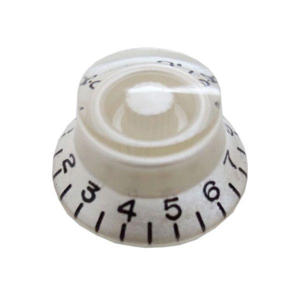 Knob Plástico Speed Bell Perola