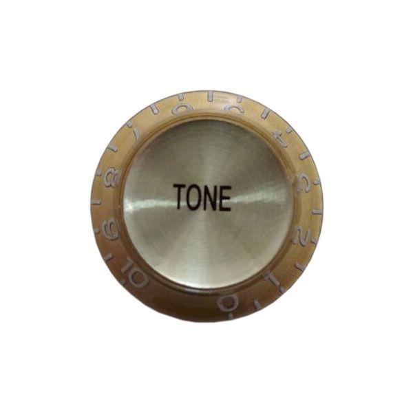 Knob Plástico Speed Bell Tone Dourado