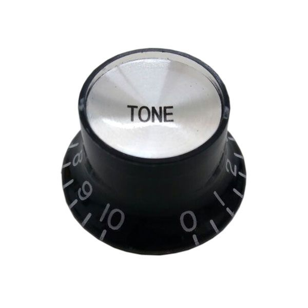 Knob Plastico Speed Bell Tone Preto