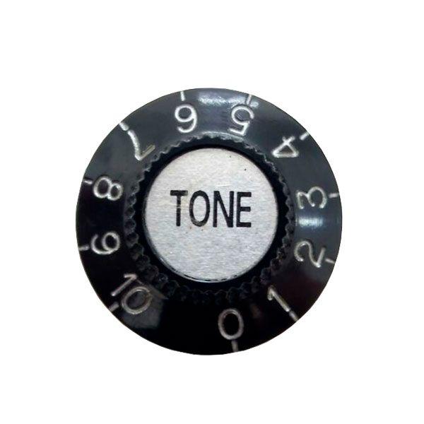 Knob Plástico Speed Semi Ac Tone Preto