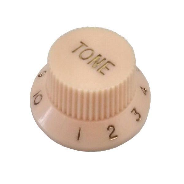 Knob Plástico Tradicional Strato Tone Creme