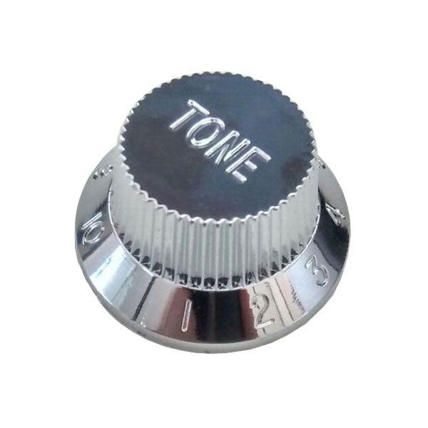 Knob Plástico Tradicional Strato Tone Cromado
