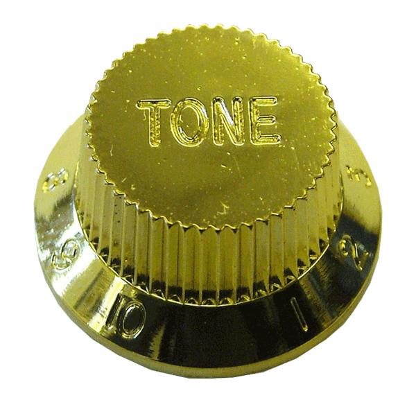 Knob Plastico Tradicional Strato Tone Dourado