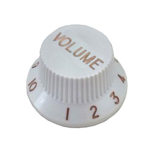 Knob Plástico Tradicional Strato Volume Branco