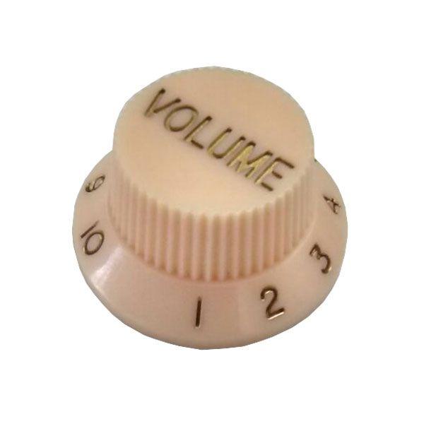 Knob Plástico Tradicional Strato Volume Creme