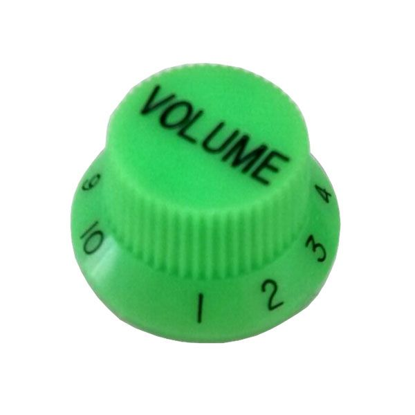 Knob Plastico Tradicional Strato Volume Verde