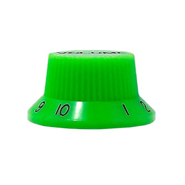 Knob Plástico Tradicional Strato Volume Verde