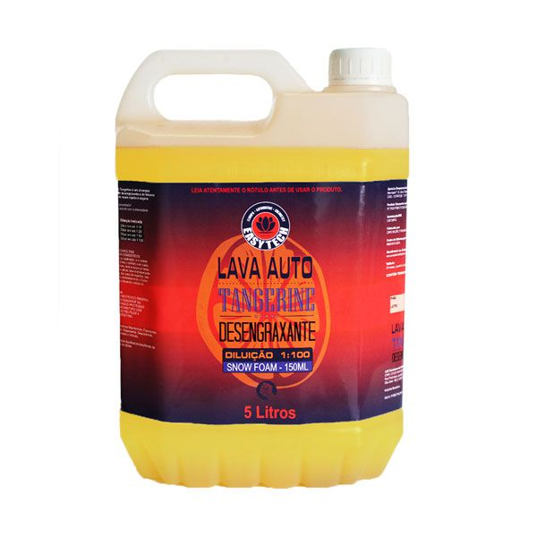 Lava Auto Desengraxante Tangerine Super Concentrado 5L Easytech