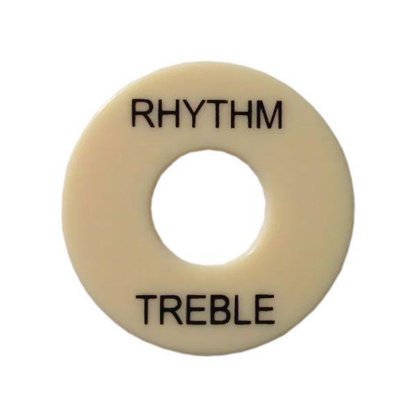 Moldura Para Chave Les Paul Treble Rhythm Creme