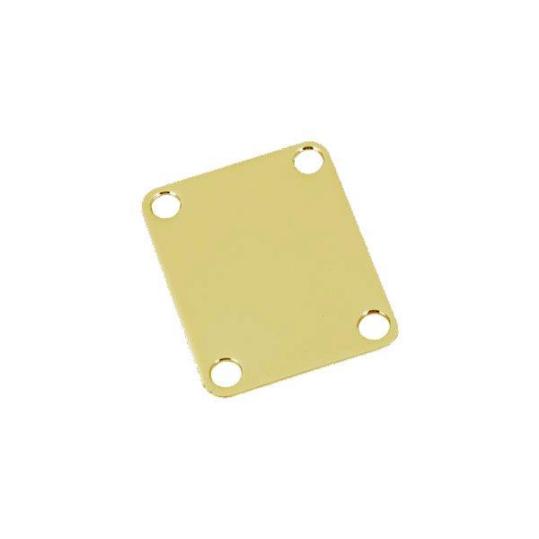 Neck Plate Liso Dourado