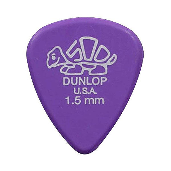 Palheta Delrin 500 1,5mm Roxa Dunlop