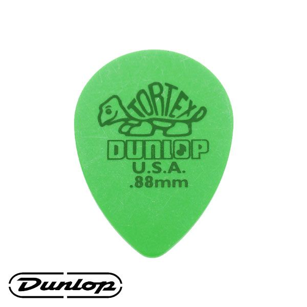 Palheta Dunlop Tortex Small 0,88mm Teardrop