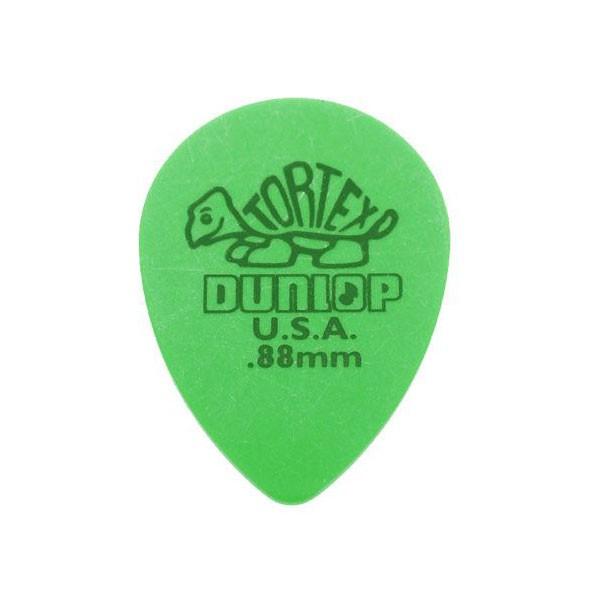 Palheta Dunlop Tortex Small 0,88mm Teardrop